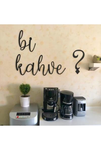 Bold Grup Bi Kahve ? Dekoratif Duvar Dekorasyonu Metal Duvar Yazısı Tablo
