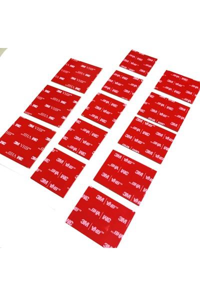 3m Vhb Çift Taraflı Bant Dıe Cut Kesim 30 mm x 20 mm 20 Adet