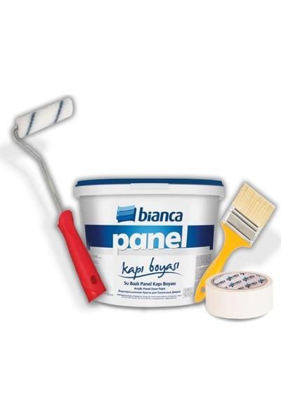 Bianca Su Bazlı Panel Kapı Boyası Seti 2,50Lt Beyaz
