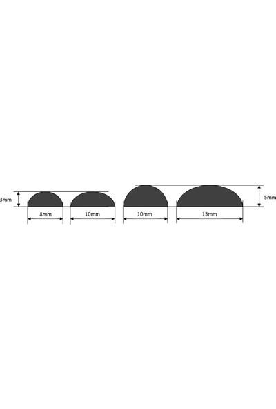 Agb Yapışkanlı Poliüretan Dökme Conta 5 x 10mm 750 m