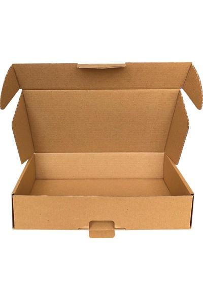 Dereli Matbaa Kutu k Posta E-Ticaret Kutusu 33 X 26 X 6,5 cm 10'lu Paket Kraft Kutu - Ürünümüz İç Dış Mksmk Kraft Malzemeden Üretilmiştir.