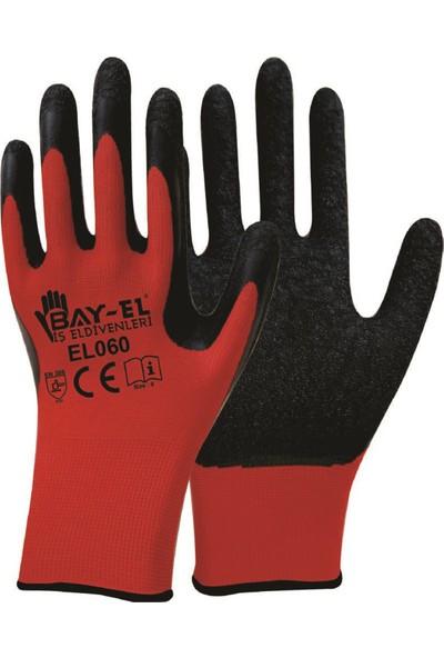 Baytas El060 Bay-El Kırmızı Siyah Lateks Kırçllı