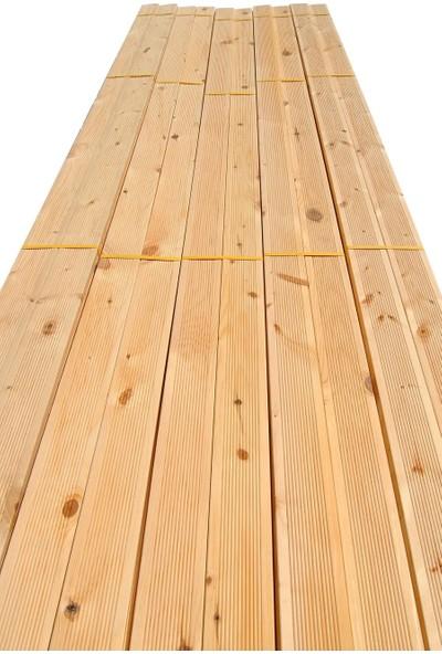 Grootland 100 cm 2.Sınıf Ahşap Tırtıklı Deck