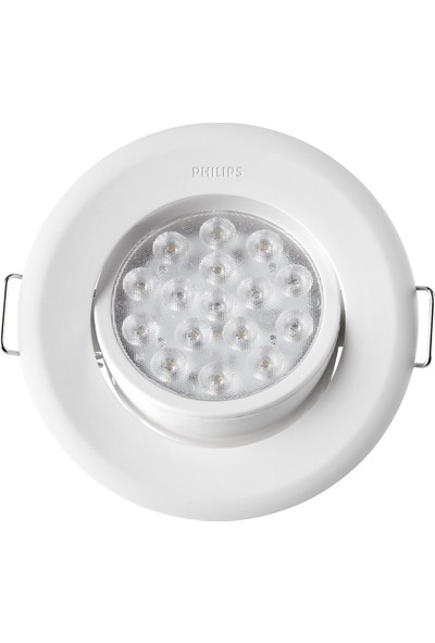 Philips Gömme Spot Lamba 47041/31/66 Beyaz Gövde 4000K