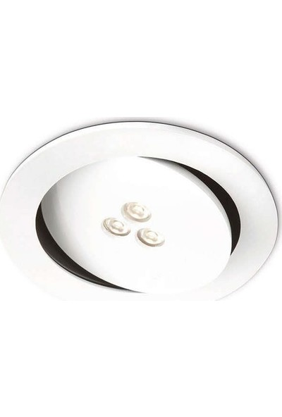 Philips Sculptor Recessed Led White 1X7.5W Selv