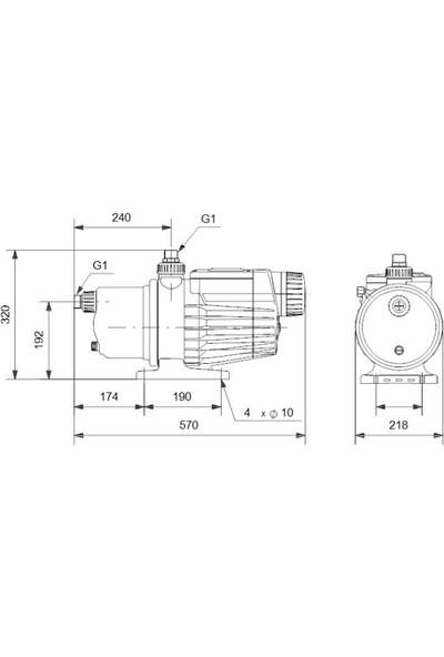 Grundfos Mq3-45 A-O-A-Bvbp 1X230V 50Hz.