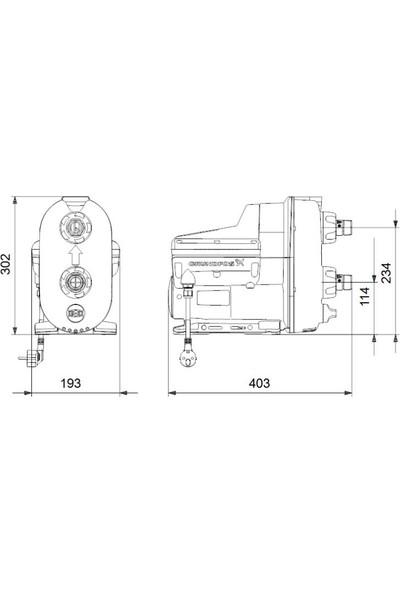 Grundfos Scala2 3-45 Akcdde 1X200-240V 50/60Hz