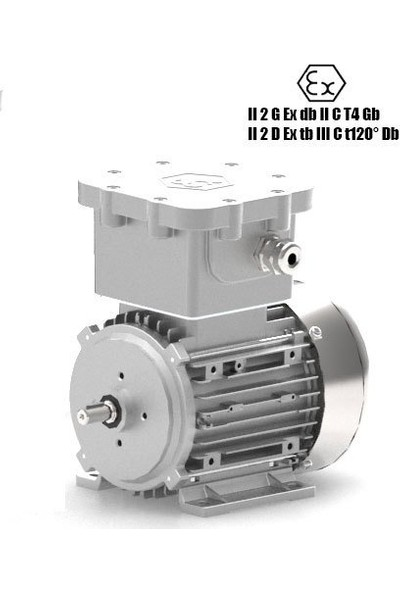 Kampa Miksan 90S 4A Ex Exproof Motor 1500 Devir 1.1 Kw
