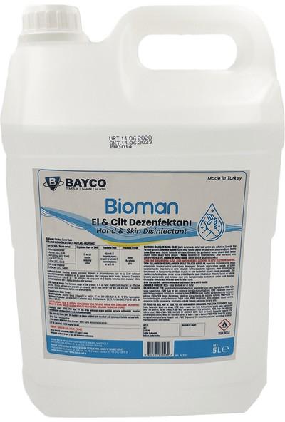 Bayco Bioman El Dezenfektanı 5 lt