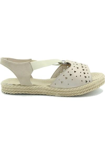 Keçeli Kadın Sandalet