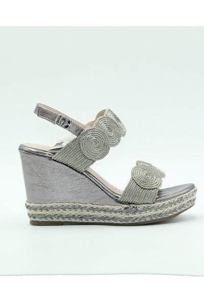 Guja Kadın Sandalet 20Y185 Gri