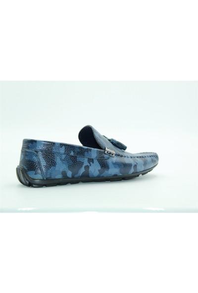 Tuğrul Ayakkabı Deri Erkek Ayakkabı Lacivert
