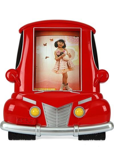 Birlik Fotoğrafçılık Kırmızı Araba Çerçeve 4x6 (10X15) LM7354