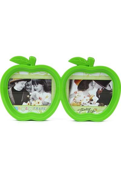 Birlik Fotoğrafçılık Yeşil Elma Çerçeve 2'li LM7633