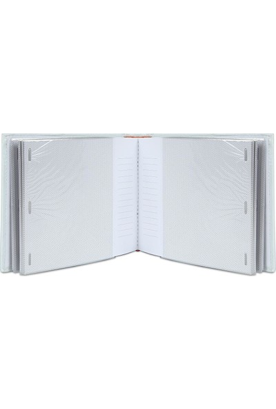 Birlik Fotoğrafçılık Deri Beyaz Albüm 5x7 (13X18) 57100B