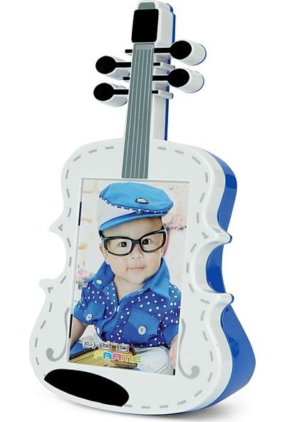 Birlik Fotoğrafçılık Mavi Gitar Çerçeve LM7311