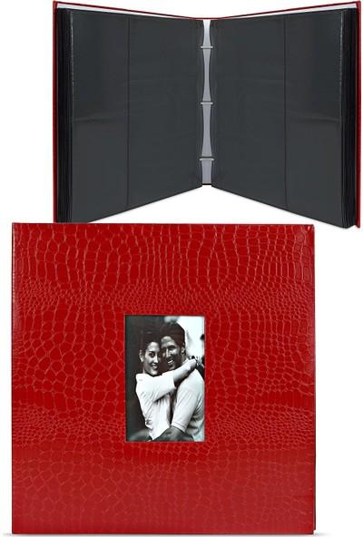 Birlik Fotoğrafçılık 4x6 (10X15) Kırmızı Fotoğraf Albümü 46500