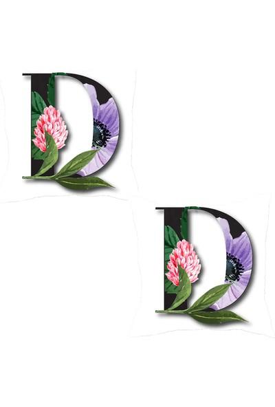 Elele Home Dekoratif Yastık Kırlent Kılıfı-YS21633-2-SET