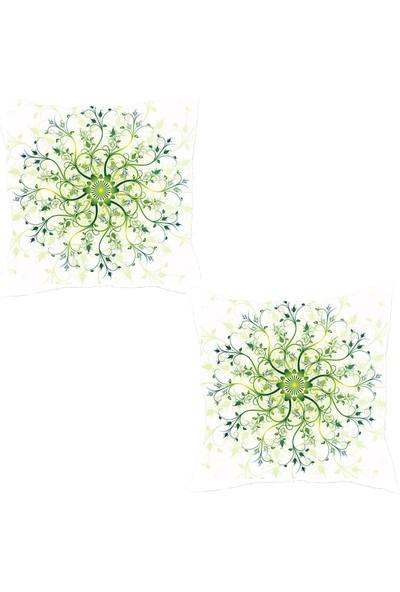 Elele Home Dekoratif Yastık Kırlent Kılıfı-YS2174718-2-SET