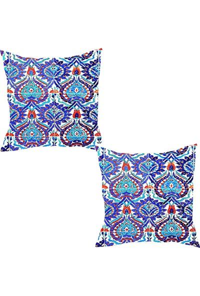 Elele Home Dekoratif Yastık Kırlent Kılıfı-YS628057637-2-SET