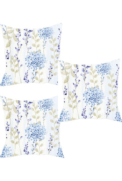 Elele Home Dekoratif Yastık Kırlent Kılıfı-YS25150637-3-SET