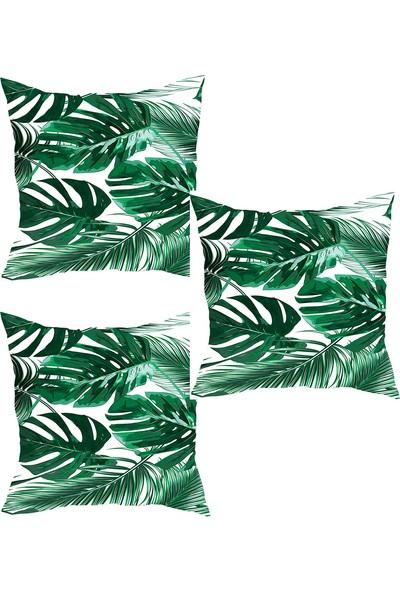Elele Home Dekoratif Yastık Kırlent Kılıfı-YS428203480-3-SET