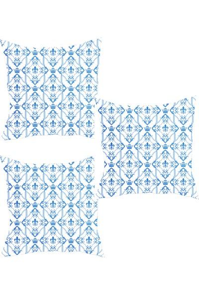 Elele Home Dekoratif Yastık Kırlent Kılıfı-YS1199770163-3-SET