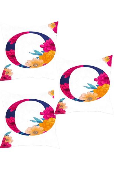Elele Home Dekoratif Yastık Kırlent Kılıfı-YS3923621413-3-SET