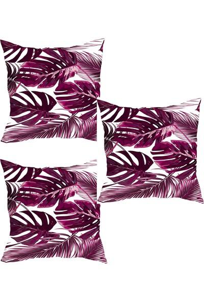 Elele Home Dekoratif Yastık Kırlent Kılıfı-YS4282034803-3-SET