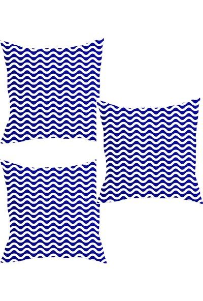Elele Home Dekoratif Yastık Kırlent Kılıfı-YS19106153451-3-SET