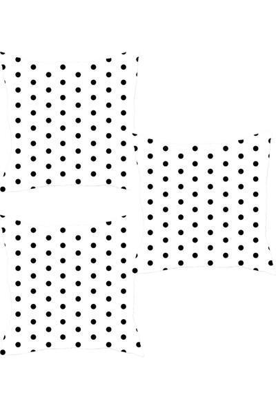 Elele Home Dekoratif Yastık Kırlent Kılıfı-YS31910615343-3-SET