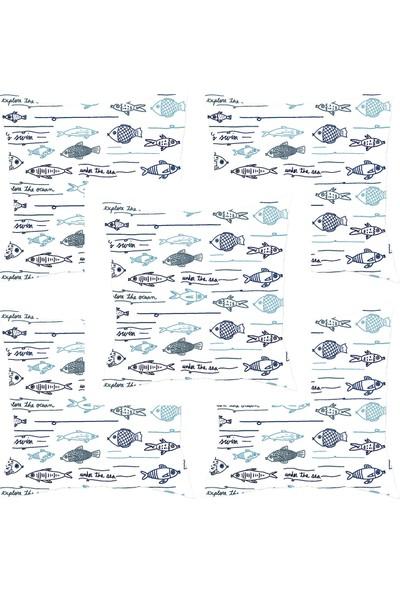 Elele Home Dekoratif Yastık Kırlent Kılıfı-YS2270657-5-SET