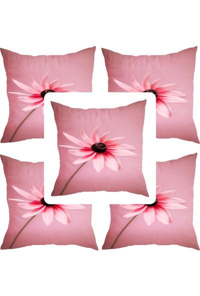 Elele Home Dekoratif Yastık Kırlent Kılıfı-YS346430355-5-SET