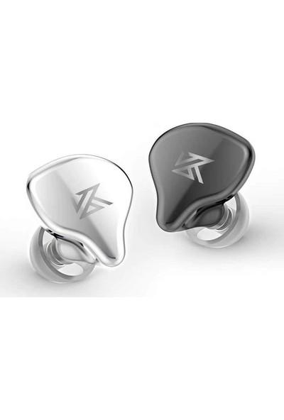 Kz S1 1dd+1ba Hybrid Dokunmatik Bluetooth 5.0 Kulaklık Gri