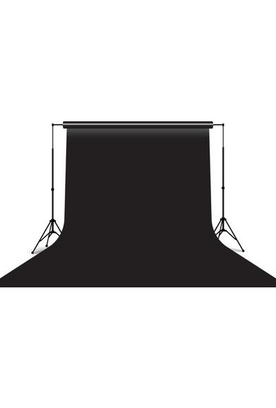 Visico Stüdyo Kağıt Fon Siyah 272 x 1100 cm