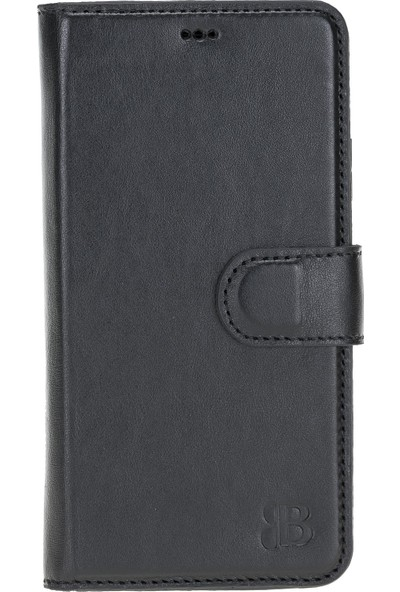 Burkley Mw Deri Telefon Kılıfı Apple iPhone 11 Rst1 Siyah