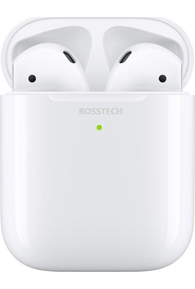 Rosstech İphone 2. Nesil Tws Airpods Wifi Şarj Destekli - Apple Android Uyumlu Süper Tws Kulaklık