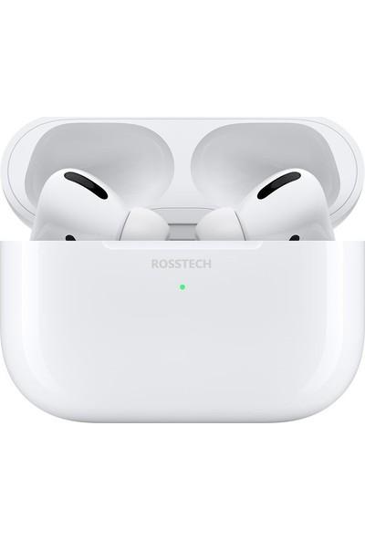Rosstech İphone Airpods Pro ANC Özellikli Wifi Şarj Destekli - Apple Android Uyumlu Süper Tws Kulaklık