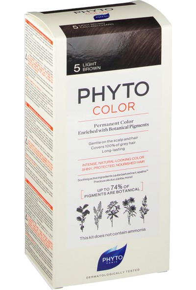 Phyto Phytocolor Bitkisel Saç Boyası 1 Siyah