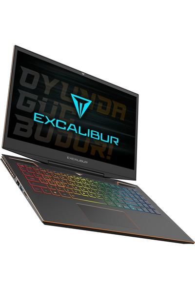"""Casper Excalibur G900.1075-E760R Intel Core i7 10750H 64GB 1TB + 1TB SSD RTX2060 Windows 10 Pro 15.6"""" FHD Taşınabilir Bilgisayar"""