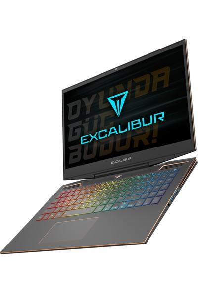 """Casper Excalibur G900.1075-D760X Intel Core i7 10750H 32GB 1TB + 1TB SSD RTX2060 FreeDos 15.6"""" FHD Taşınabilir Bilgisayar"""