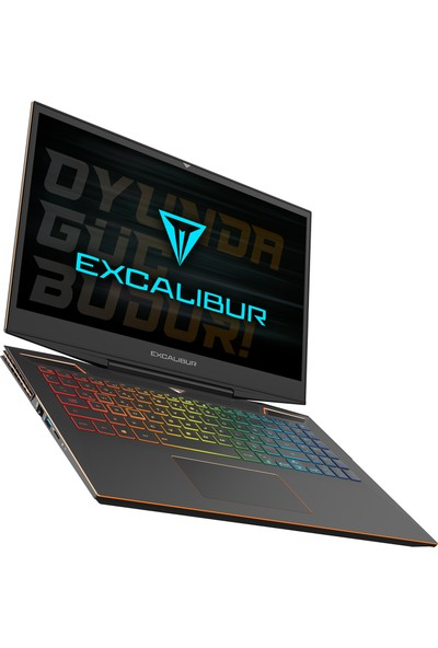 "Casper Excalibur G900.1075-AVL0A Intel Core i7 10750H 12GB 512GB SSD GTX1660Ti Windows 10 Home 15.6"" FHD Taşınabilir Bilgisayar"