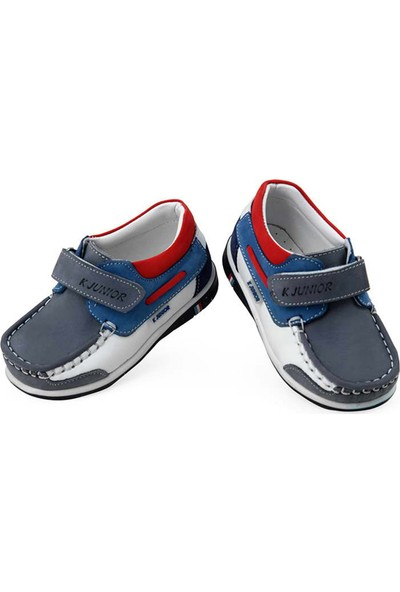 Kaptan Junior Erkek Çocuk Deri Ayakkabı