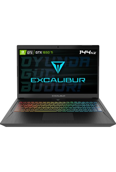"Casper Excalibur G780.1030-E7J0X Intel Core i5 10300H 64GB 1TB + 1TB SSD GTX1650Ti FreeDos 17.3"" FHD Taşınabilir Bilgisayar"