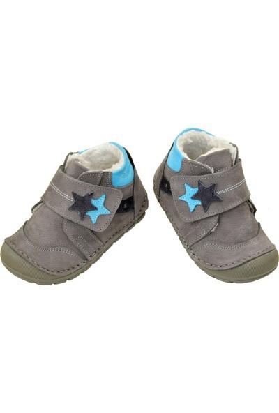 Kaptan Junior İlk Adım Deri Erkek Bebek Ayakkabı