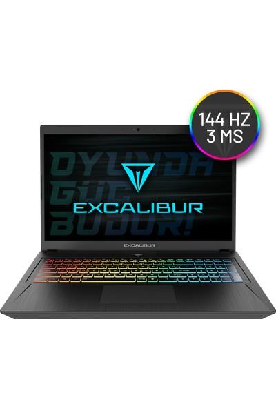 "Casper Excalibur G780.1075-8HJ0X Intel Core i7 10750H 8GB 480SSD + 512GB Nvme SSD GTX1650Ti FreeDos 17.3"" FHD Taşınabilir Bilgisayar"