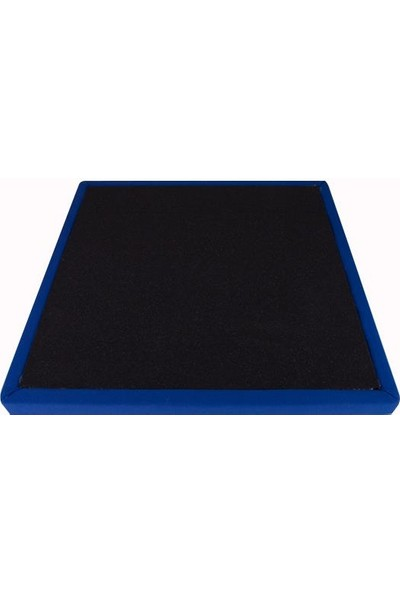 Center Acoustic Kumaş Kaplı Akustik Sünger Panel 4 Cm Koyu Mavi 60X60 Cm