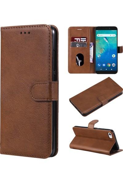 Fitcase General Mobile Gm 9 Go Kılıf Fitcase Elite Kapaklı Cüzdanlı