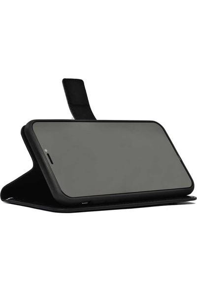 Mobilteam Huawei Y9 Prime 2019 Kılıf Kapaklı PocketDelux Siyah