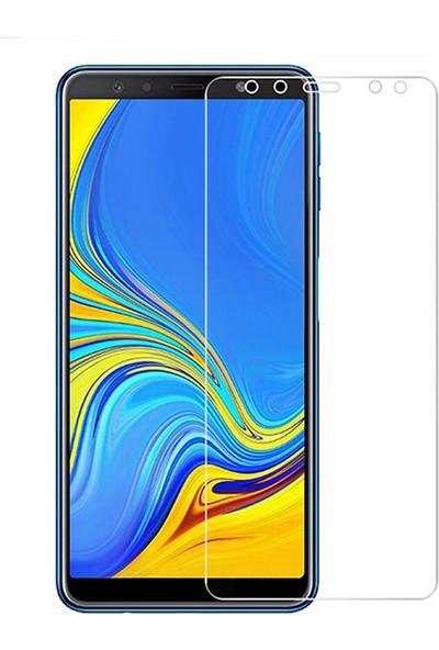 Esepetim Samsung Galaxy A7 2018 Cam Ekran Koruyucu Tam Koruma Temperli